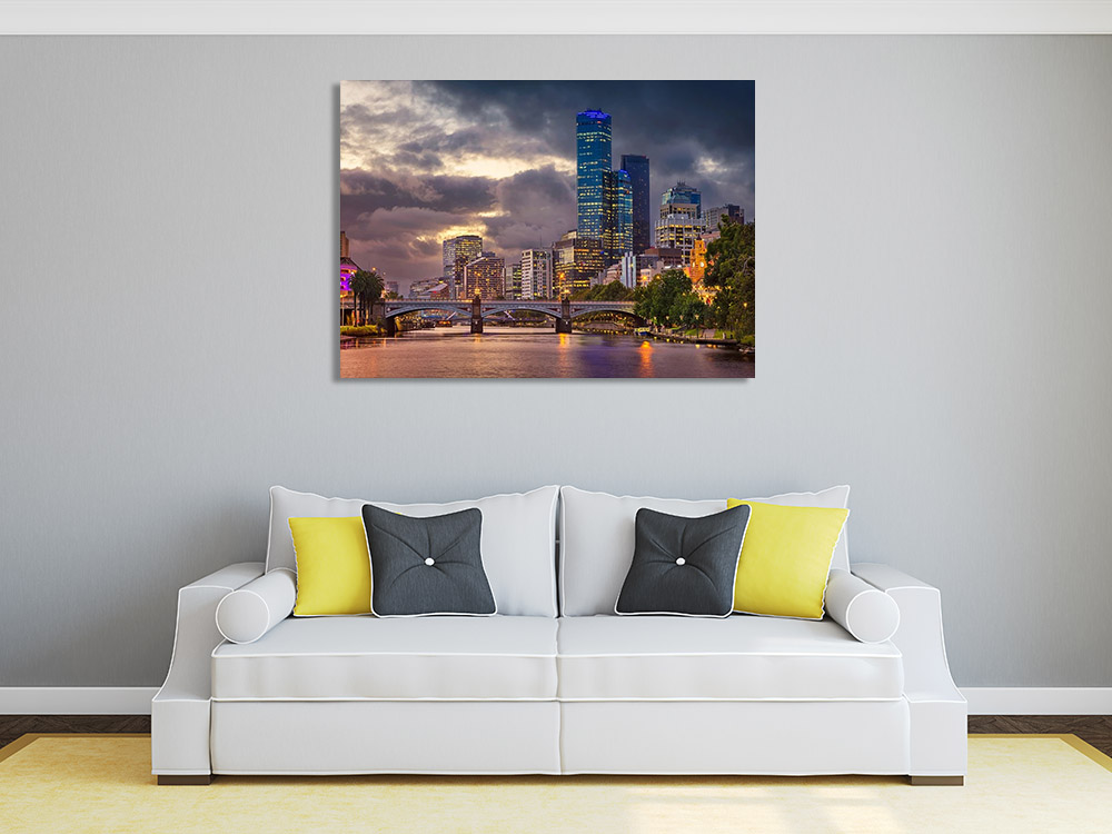 Photography Cityscape Wall Canvas Print