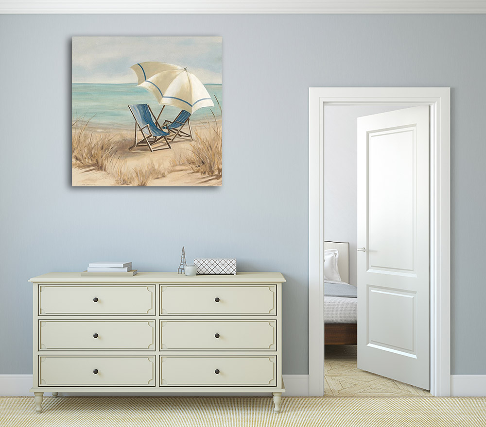 Blue Ocean Wall Canvas Art
