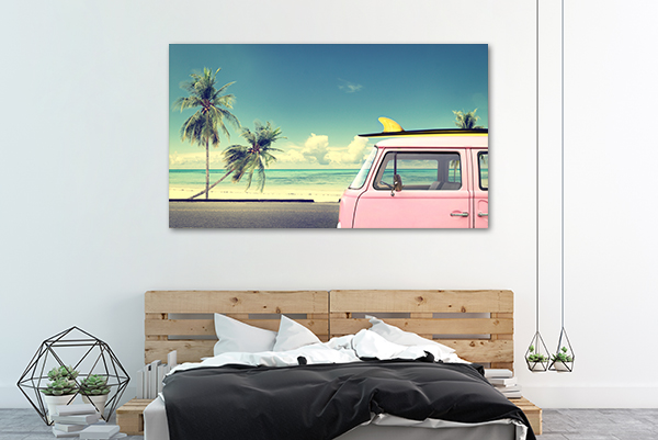 Summer Wall Art Print on the wall