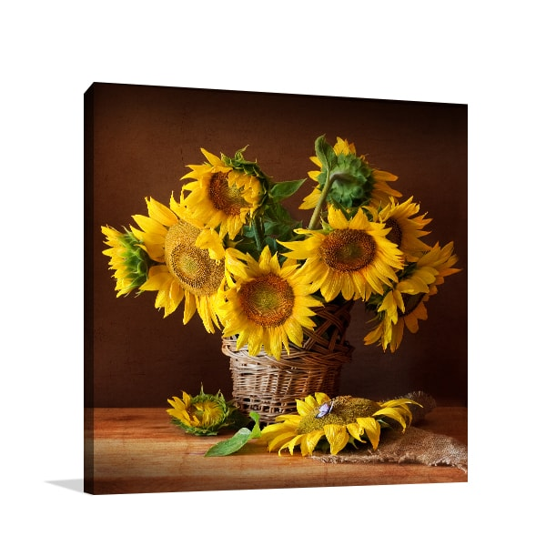 Sunflowers Print Artwork