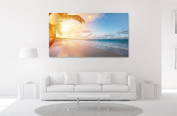 Sunrise on Beach Wall Art