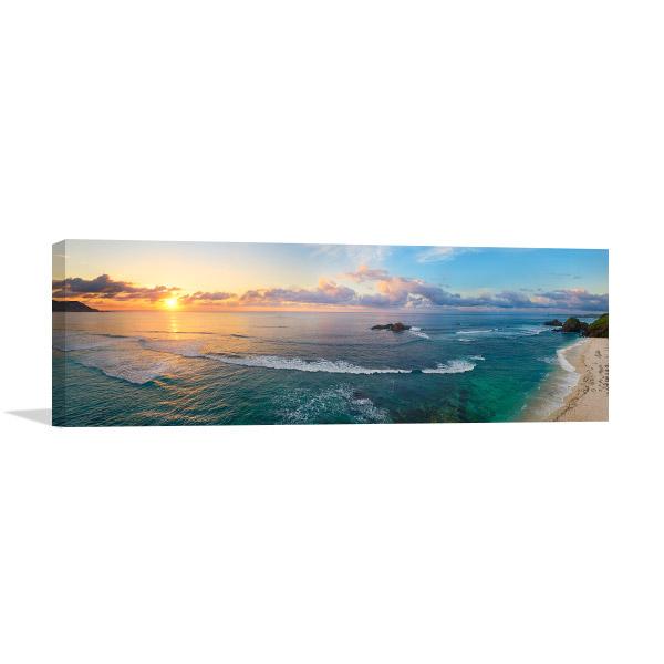 Sunrise Panoramic View Art Prints