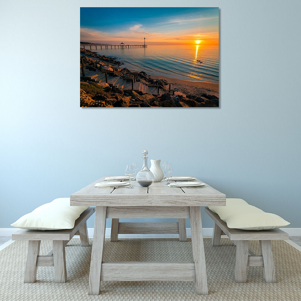 Beach Photography Canvas Print
