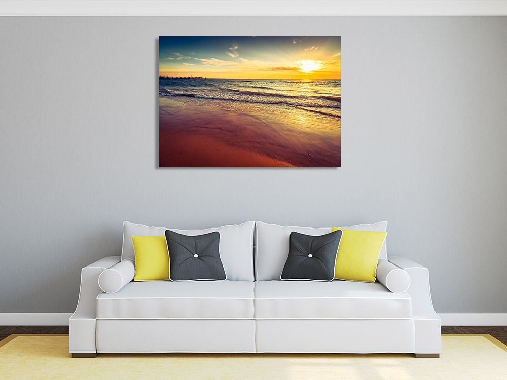 Beach Photography Canvas Print
