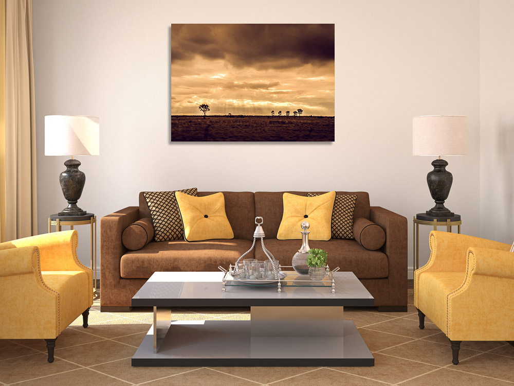 Sunset Photography Art Print Canvas
