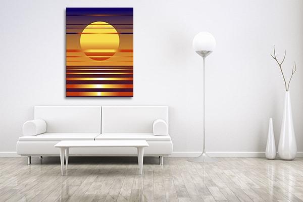 Sunset Symbol Artwork