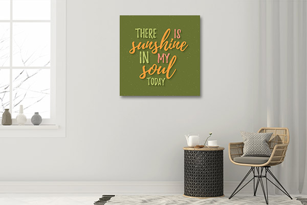Sunshine in Soul Wall Art