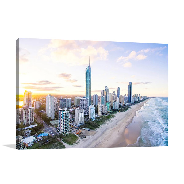 Surfers Paradise Skyline Australia