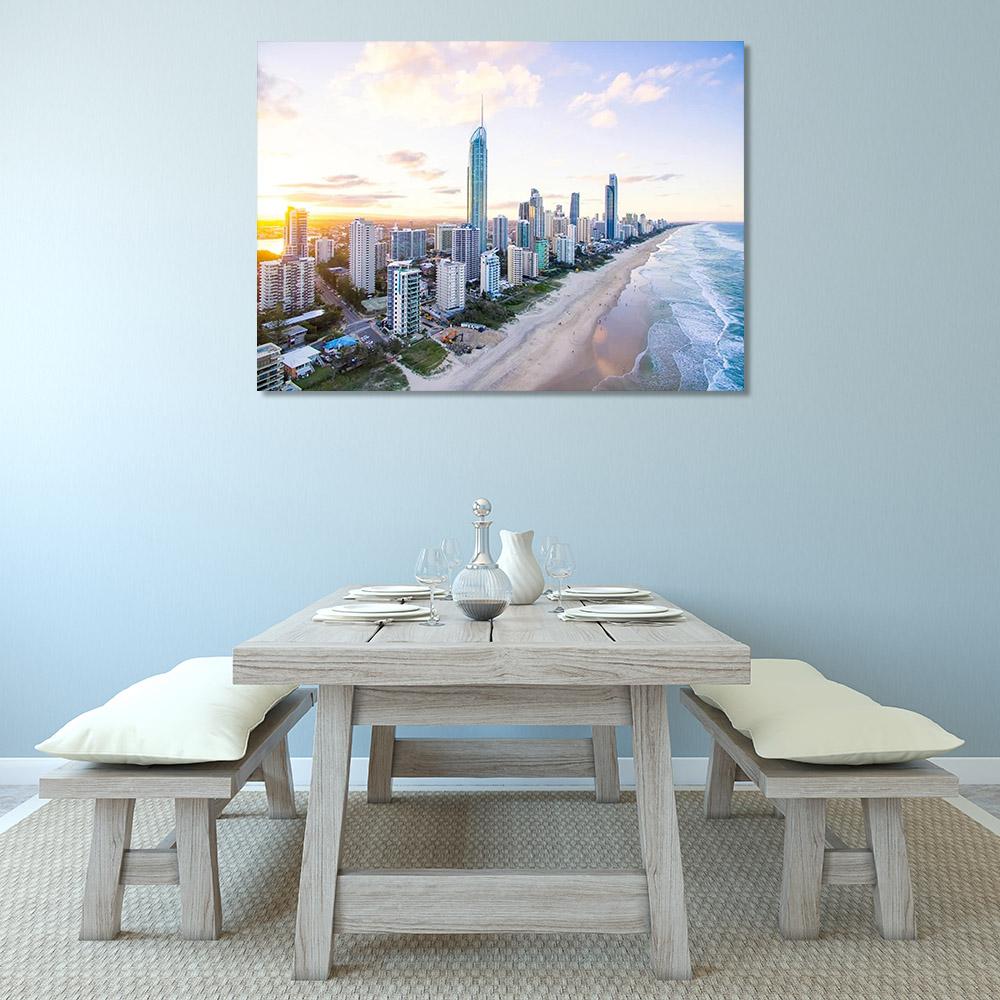 Skyline Photography Canvas Print