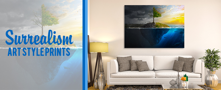 Surrealism Art Style Prints For Kids Room Decors