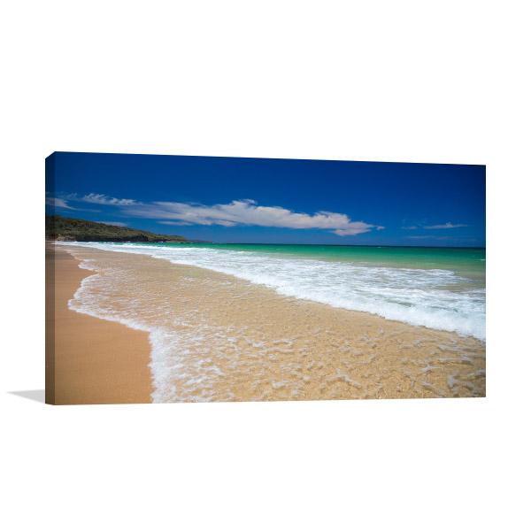 Sussex Canvas Print Inlet Beach Photo Art