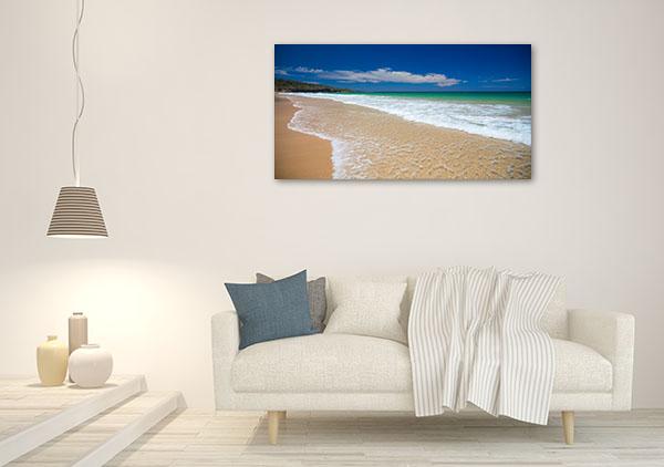 Sussex Canvas Print Inlet Beach Photo Artwork