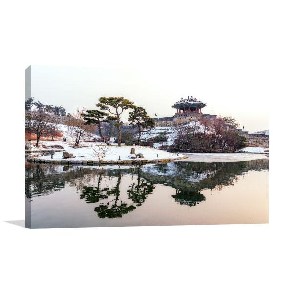 Suwon Hwaseong Fortres Prints Canvas