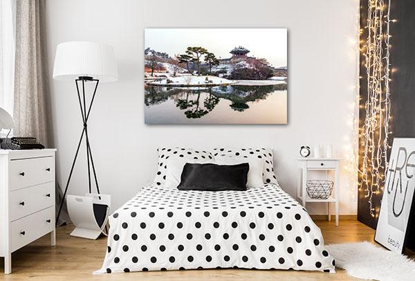 Suwon Hwaseong Fortres Canvas Prints