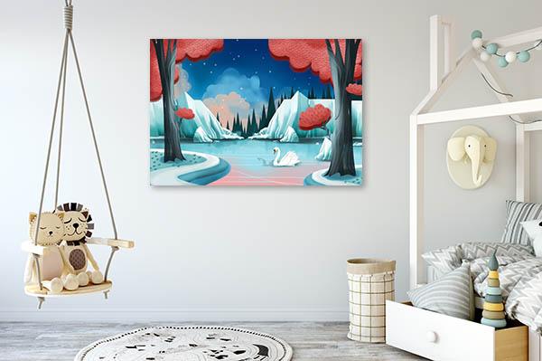 Swan Lake Story Print Artwork