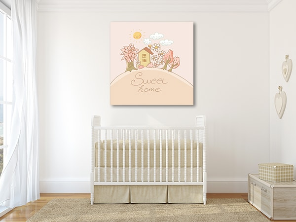 Sweet Home Canvas Art