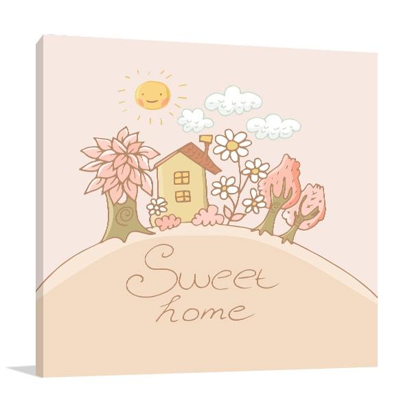Sweet Home Art Prints