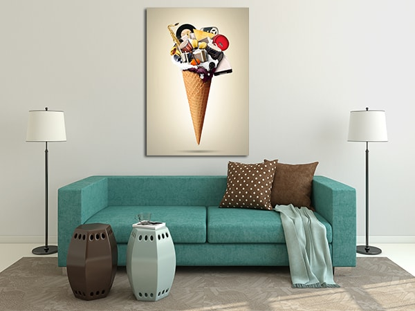 Sweet Sound Canvas Art Prints