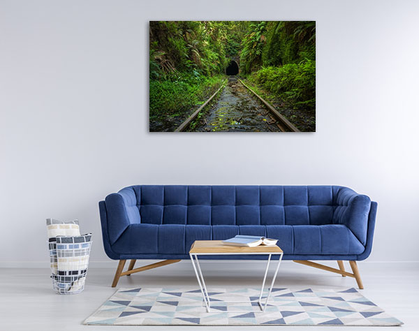 Sydney Art Print Helensburgh Abandoned Railway Picture Canvas