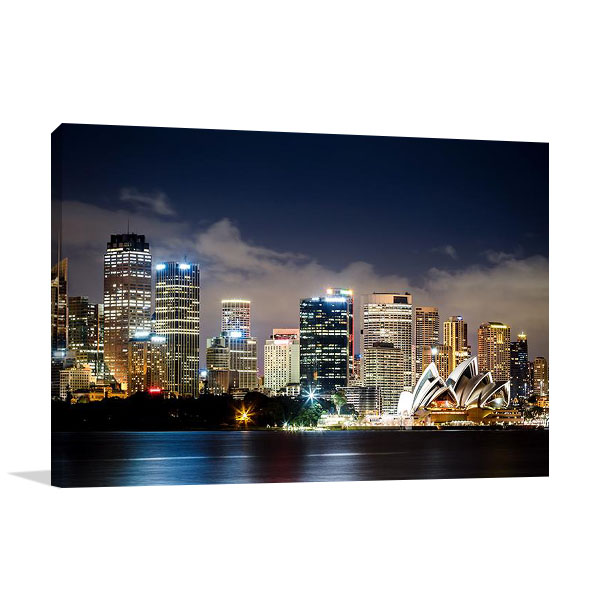 Sydney City Center Australia | Canvas Print