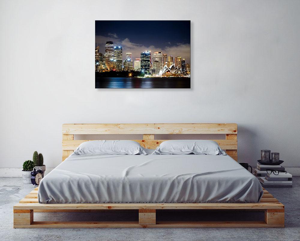 Australia Sydney City Wall Prints