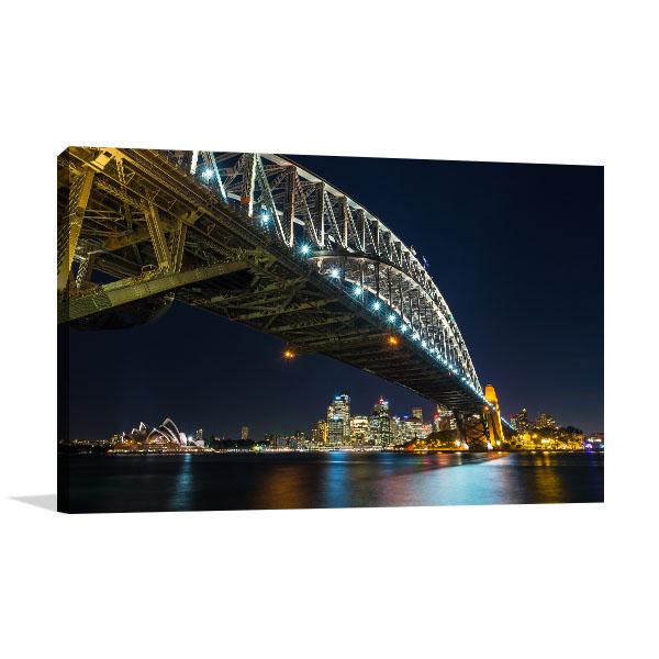 Sydney Harbour Mileu Canvas Art Prints