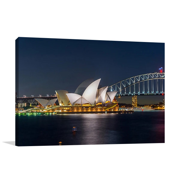 Sydney Opera House at Night Print