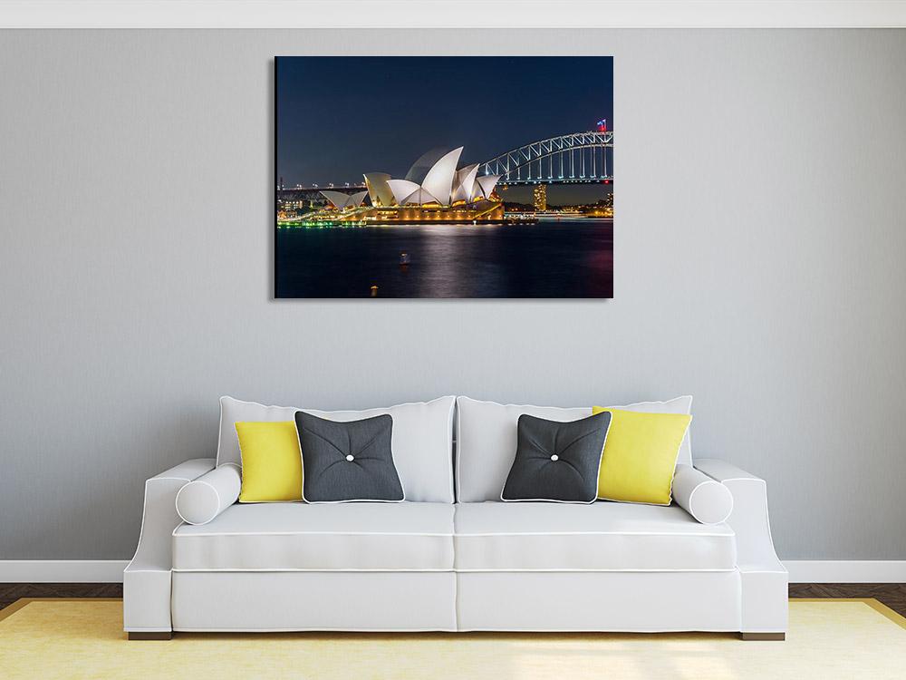 Australia Opera House Print on Canvas
