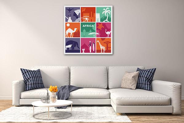 Symbols of Culture Art Prints
