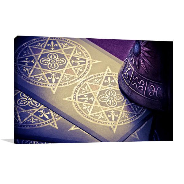 Tarots Cards Prints Canvas