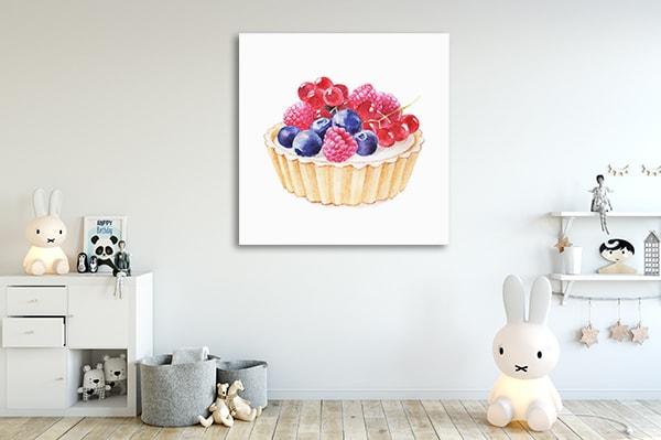 Tartlet Fruity Canvas Prints