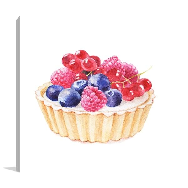 Tartlet Fruity Prints Canvas