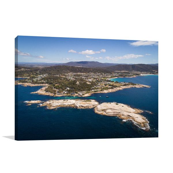 Tasmania Canvas Print Bicheno The Gulch