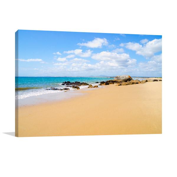 Tasmania Canvas Wal Print Bridport Beach