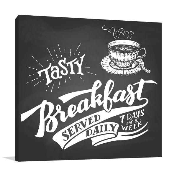 Tasty Breakfast Print Artwork