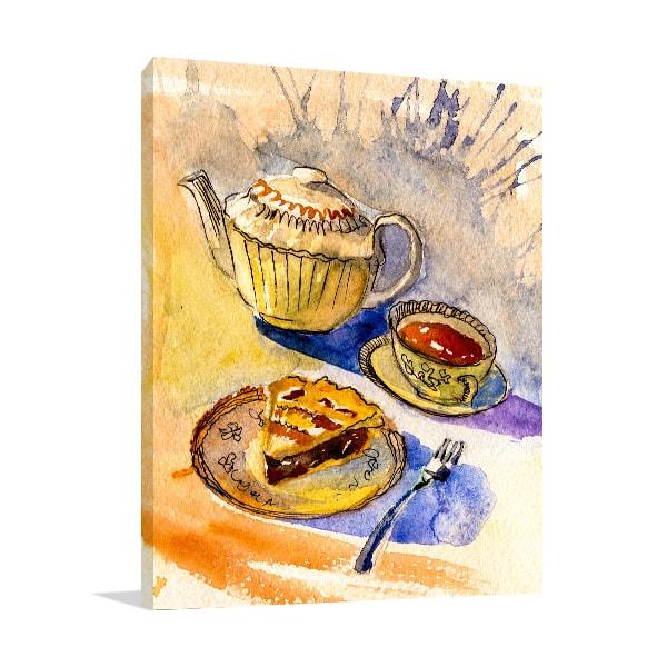 Tea Time Canvas Art Prints
