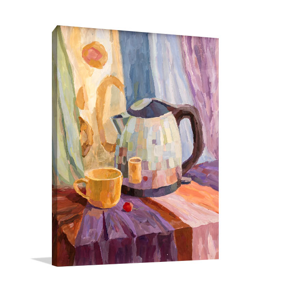 Tea Time Still Life Wall Art