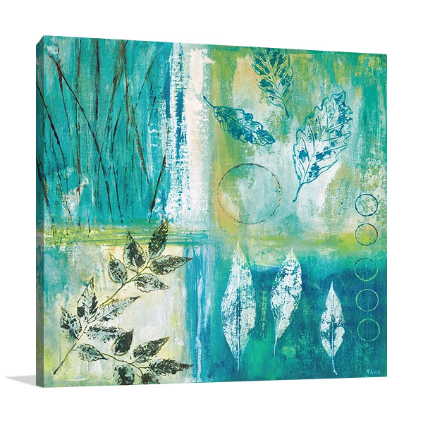 Teal Earth I Print | Tava Studios