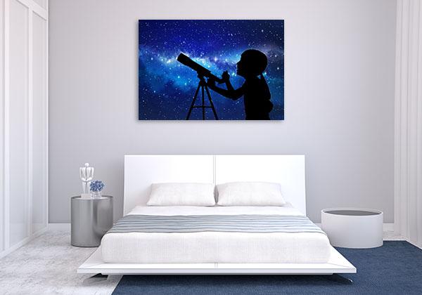 Telescope At The Stars Art Prints