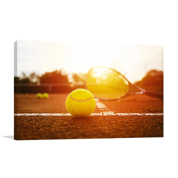 Tennis Court Canvas Prints
