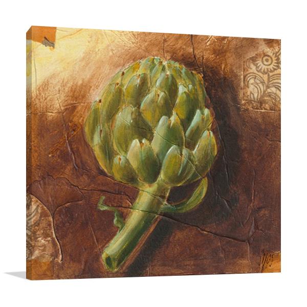The Artichoke Fruit Wall Print