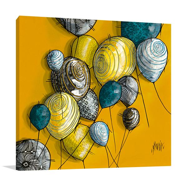 The Balloons Wall Art Print