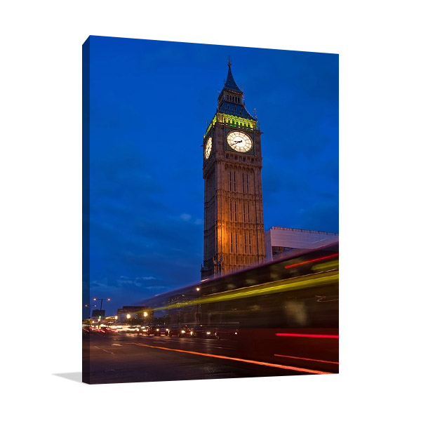 London Big Ben Canvas Print