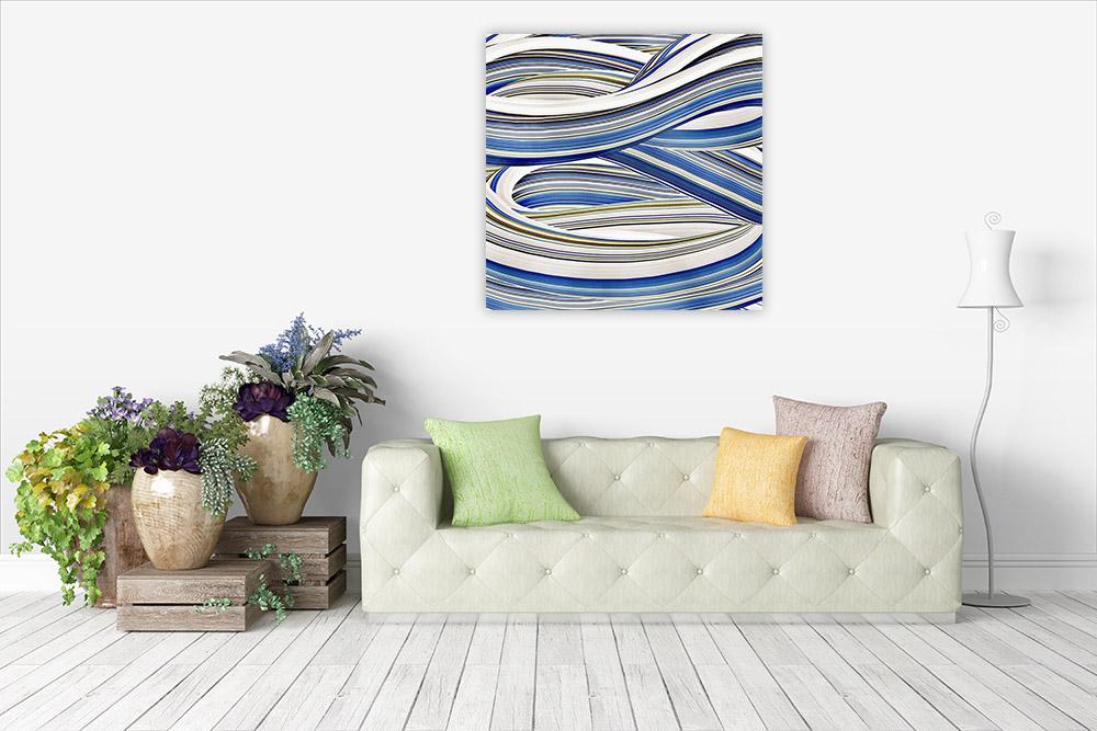 Blue Tone Canvas Print