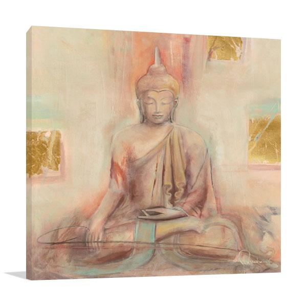 The Buddha I Wall Print Canvas