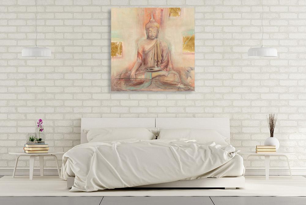 Buddha Spiritual Canvas Print
