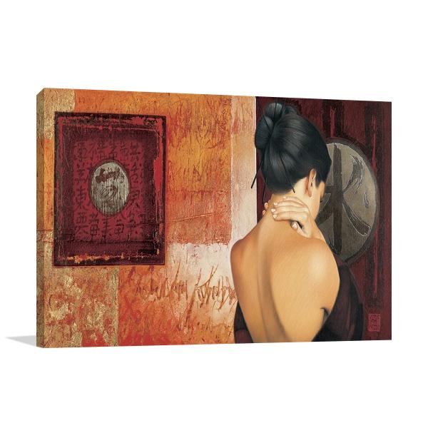 The Chinese Lady I Wall Art Print