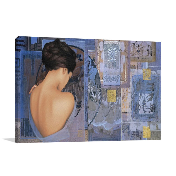 The Chinese Lady II Print on Canvas