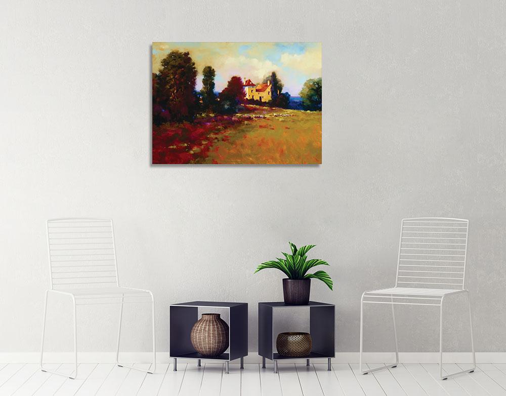 Contemporary Landscape Canvas Print