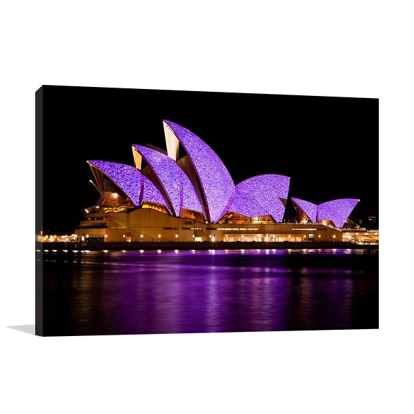 The Opera House at Night Australia